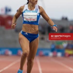 """""""Women's 100m Final. Ραφαέλα Σπανουδάκη / φωτο Νάσσος Τριανταφύλλου"""""""